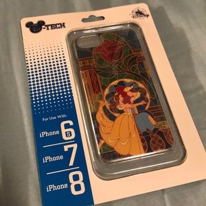 NWT Disney iPhone 6s/7/8 Case- Beauty & the Beast